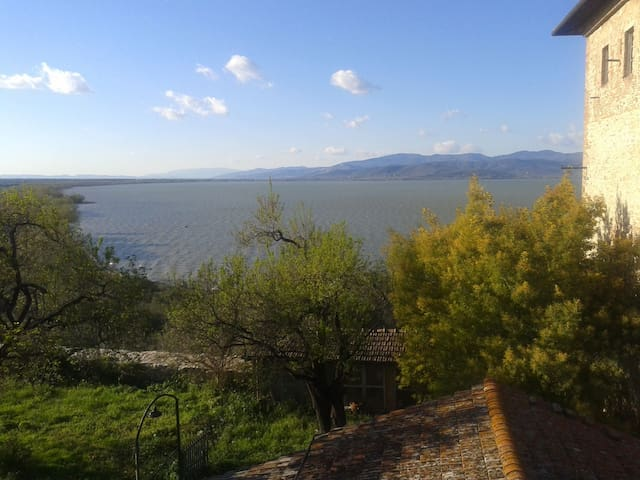 Apartment with view Lake Trasimeno