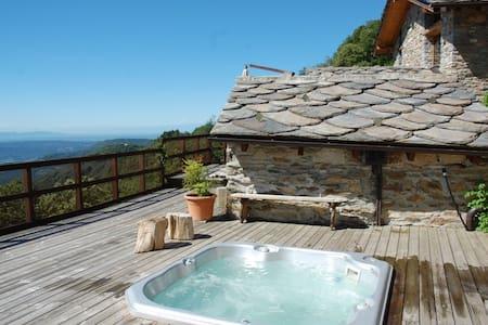 Le case di Palù - chalet 6 posti - Brosso - Blockhütte
