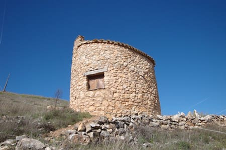 REFUGIO CABAÑA de senderismo. Andaluz (Soria) SP.