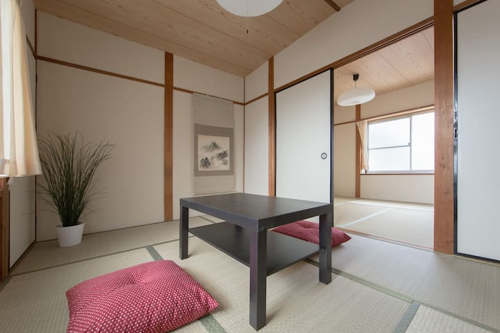 3FREE BIKES 3mins Demachiyanagi stn - Kyoto - House