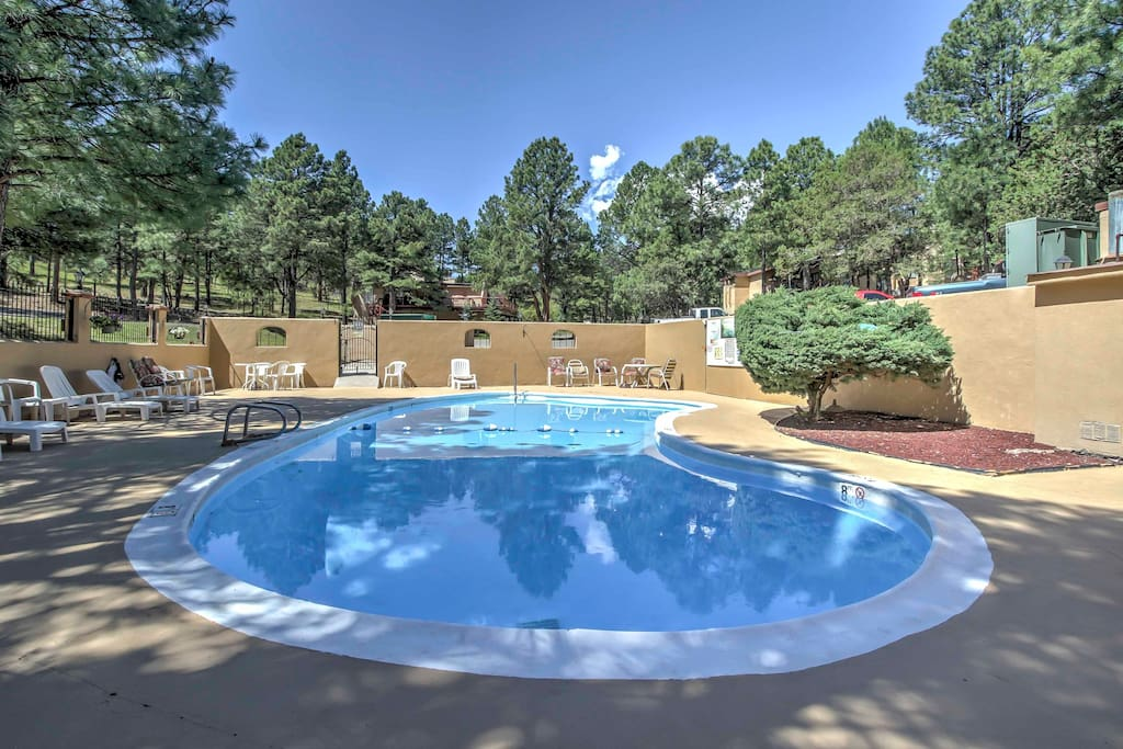Spend your afternoons next to the community pool that's right across the street from the property.