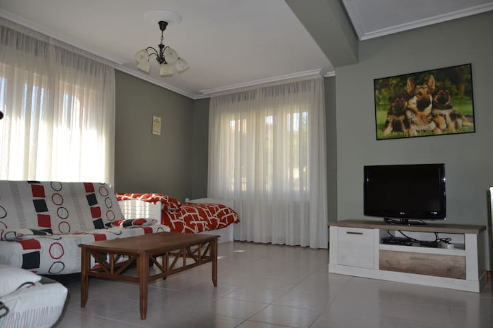 SPACIOUS, QUIET  AND  COMFORTABLE - Viana - Leilighet