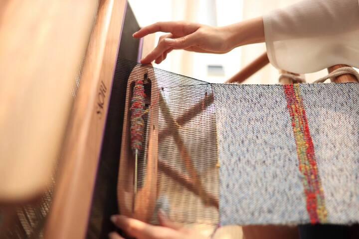 手织布体验者