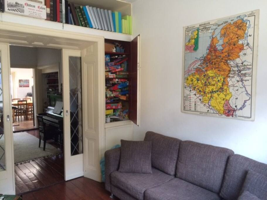 Living room (en suite) in two parts. Part 1.