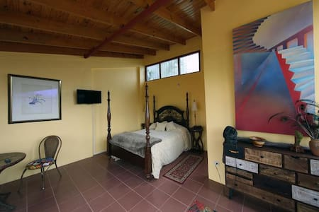 PRIVATE SUITE W.BATH & MOUNTAIN VIEW - FREE YOGA - San Isidro de Grecia