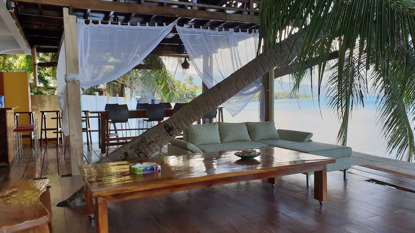 Bohol Beach House avec 2 chambres pour 8 personnes