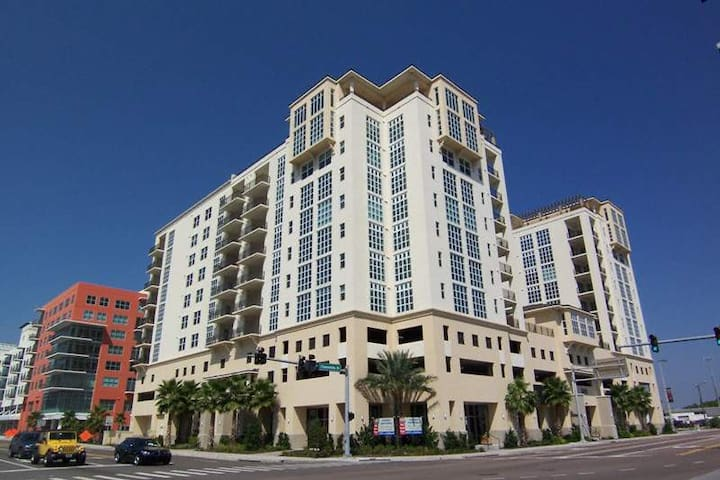 BCS Nt'l Champ- Channelside Condo (Downtown Tampa) - Tampa - Apartment