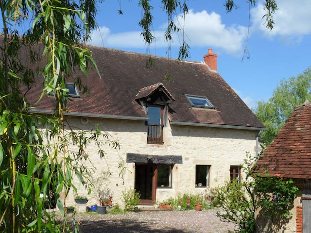 Lovely 100m2 self-catering cottage - Pouzy-Mésangy - Ev