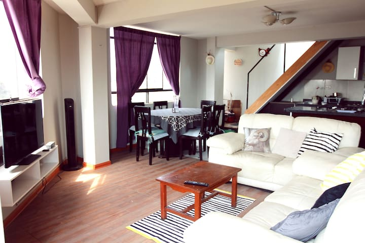 Lima Clean 2 bedroom Apartment - Lima - Loft