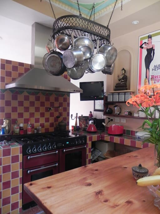 Family kitchen.. you are welcome to use it at any time...
