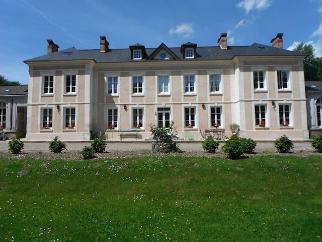 chambre confortable dans château - Villequier - Kasteel
