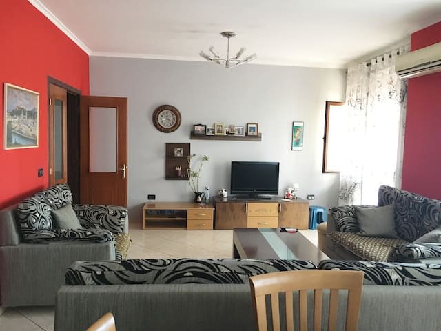 lovely big apartment near the center of the city
