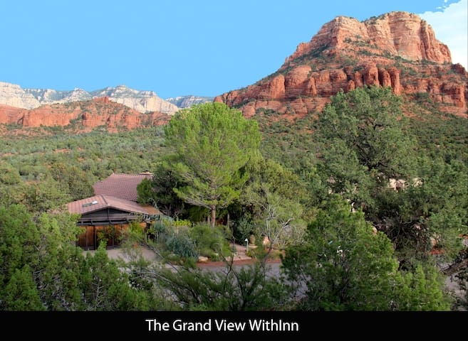 The GRAND VIEW WITHINN,    A Suite Spot with Heart