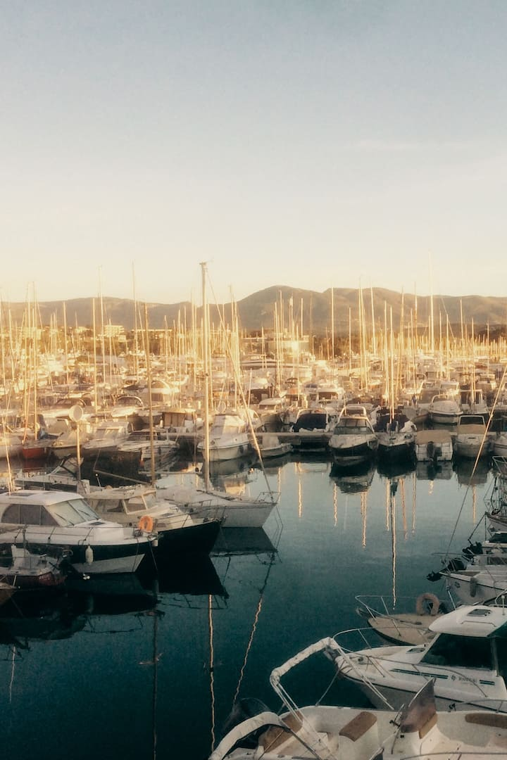 Port running views