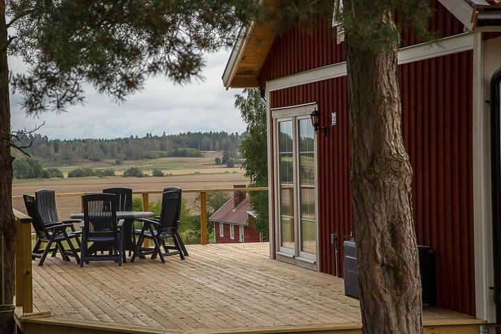 Tallberga gästhus med vacker utsikt nära Linköping