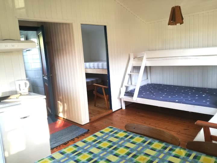 Traditional cabins with private bathroom