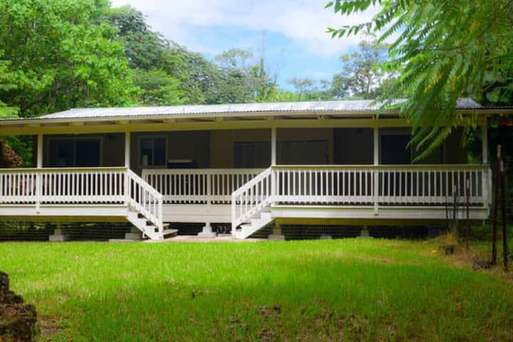 Tropical Forest Retreat Near Ocean -Ho'ohauoli