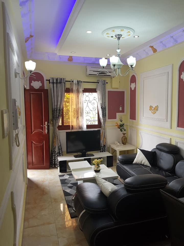 Douala résidence City (studios crèmes)