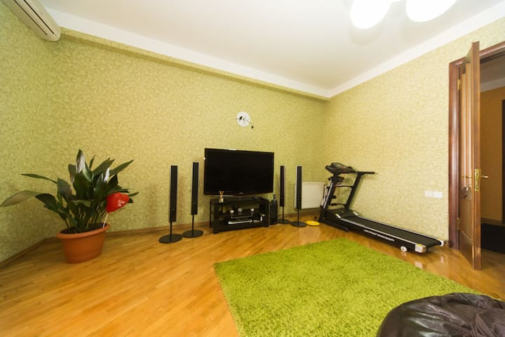 Huge 170 Apart. with Good Location - Tbilisi - Apartment
