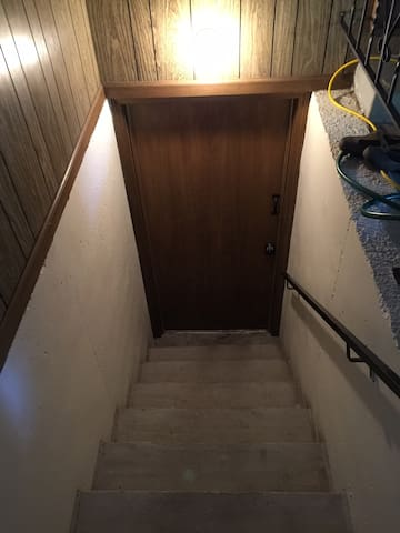 Basement Apartment With Garage Entrance