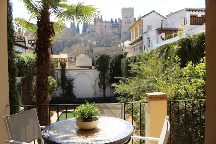 Albaycin 4 Personas con vistas Alhambra y  Parking