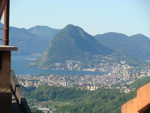Great Scenery&Hike close to Lugano - Roveredo - House