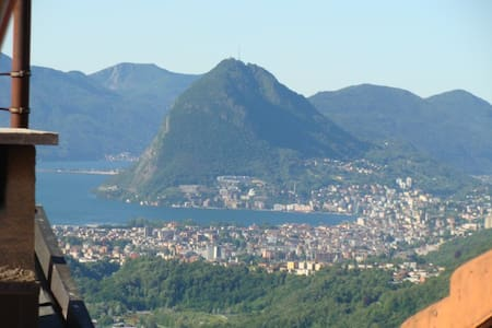 Great Scenery&Hike close to Lugano - Roveredo