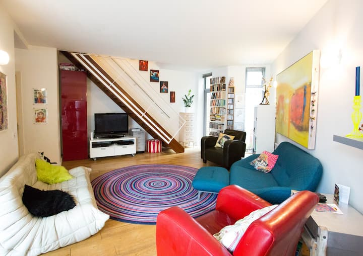 3 Double Bed, 2 Bath Apartment in Stoke Newington