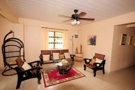 Cozy 2 bedroom ground floor apartment - Paramaribo - Lejlighed