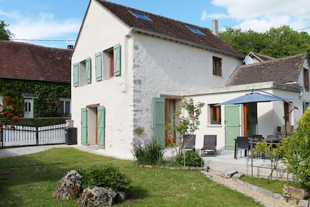 Room in charming house - Chalautre-la-Petite - Huis