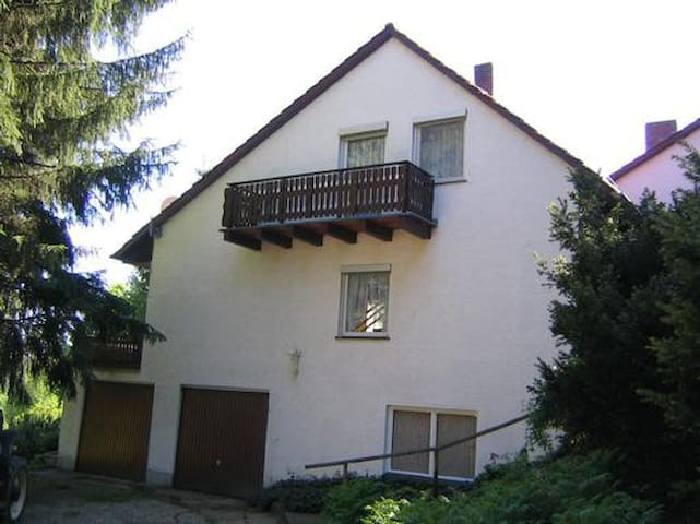 Holiday cottage in a quiet, rural setting with magnificent view of the Upper Palatinate hills