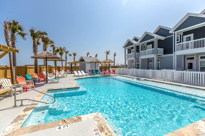 3BR/2.5BA Padre Island Townhome - Corpus Christi - Casa