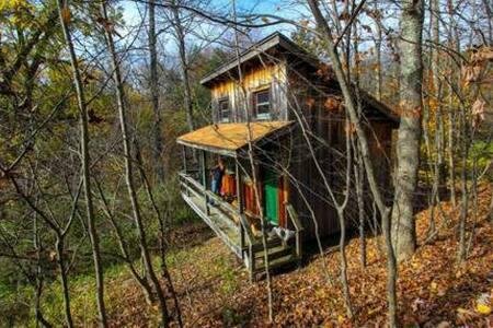 Poustinia Cabin @ Rune Hill Sanctuary