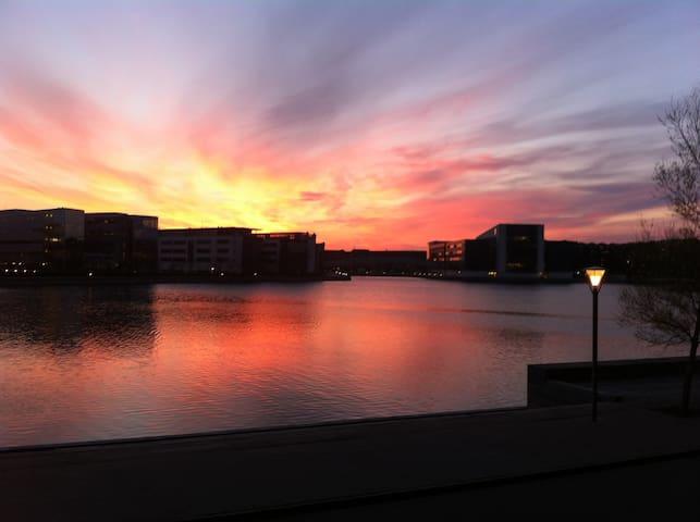Stor lys lejlighed ved vandet - København - Apartment