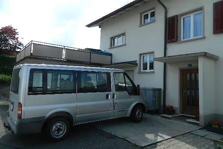 Gemütliches Zimmer mit Seperaten Eingang - Hunzenschwil - Hus