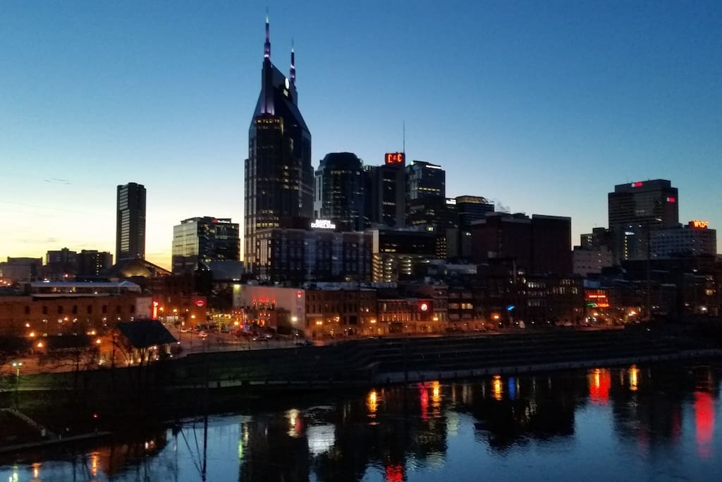 Welcome to Nashville, Tennessee!