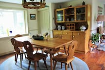 Dining room with Austrian accents