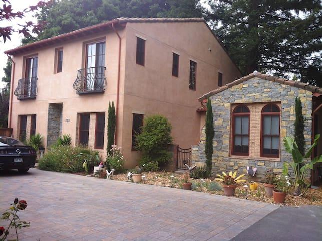 Stanford Area Italian Villa - Menlo Park - House