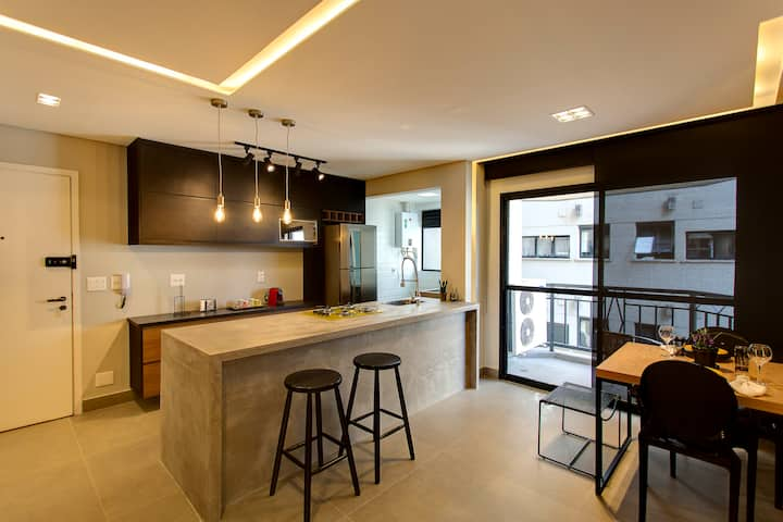 Multihouse - Moderno Apartamento Vila Olímpia