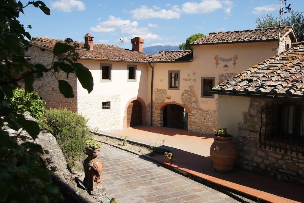 Splendido Casale Con Piscina 18 Km Da Firenze Pini Flats