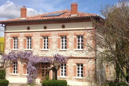 Maison de maître + Piscine - VERFEIL