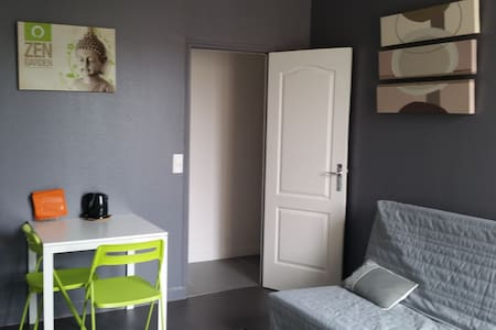 Reims, charming renovated studio  - Rheims