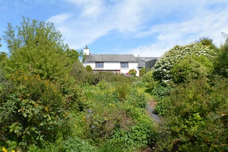 Cosy cottage near Machynlleth with stunning views - Commins Coch
