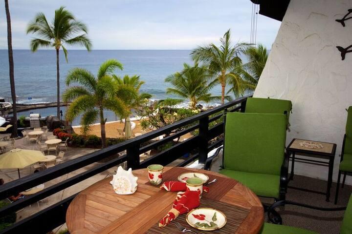 Casa de Emdeko 335, Ocean View, AC, 2 Pools - Kailua-Kona - Selveierleilighet