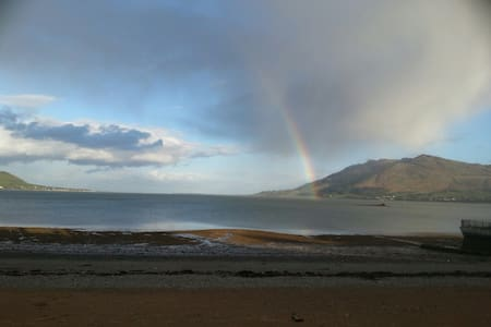 On the Beach,next to Balmoral hotel - Warrenpoint