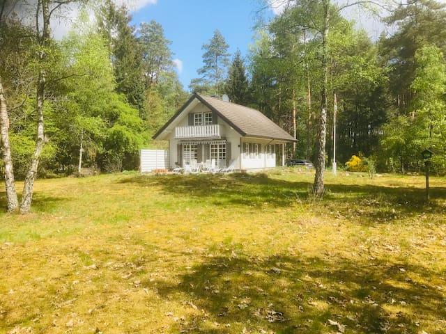 Waldhaus in der Bardowicker  Heide