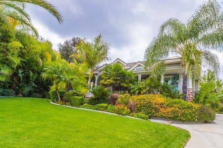 洛杉矶豪华别墅,您美国的美丽家园--等候您的光临! - 단독주택