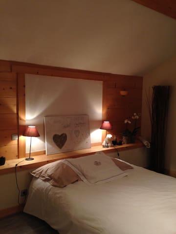Chambre dans une chouette maison - Sallanches - Hus