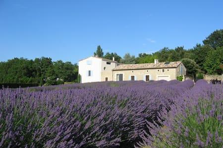 Provence Studio Apartment-Lavender - valaurie - Haus