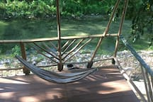 hammocks by the river